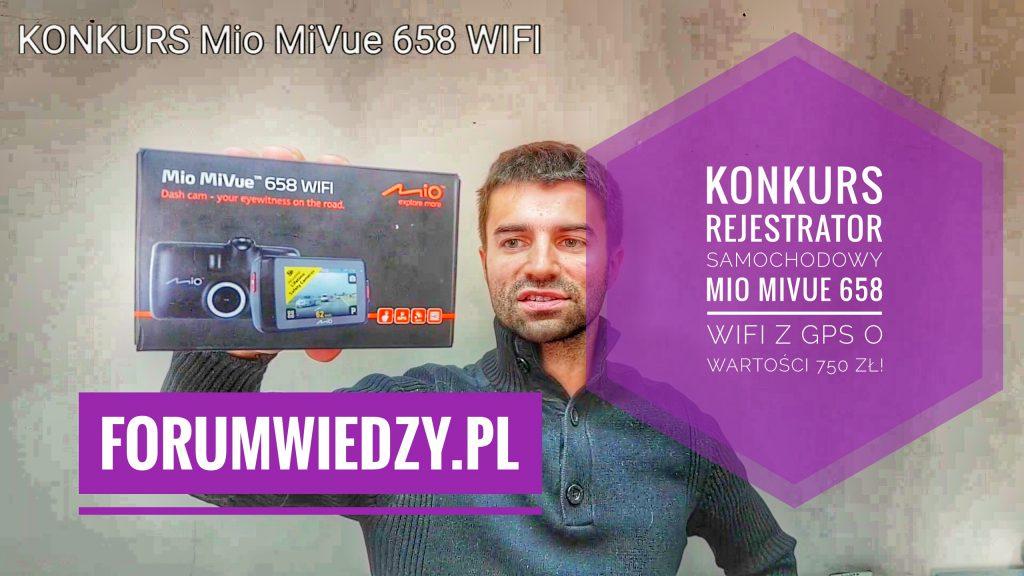 Konkurs Mio MiVue 658 WIFI