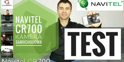NAVITEL CR700 FULL HD + Nawigacja Europy