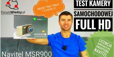 NAVITEL MSR900 TEST Kamery Samochodowej