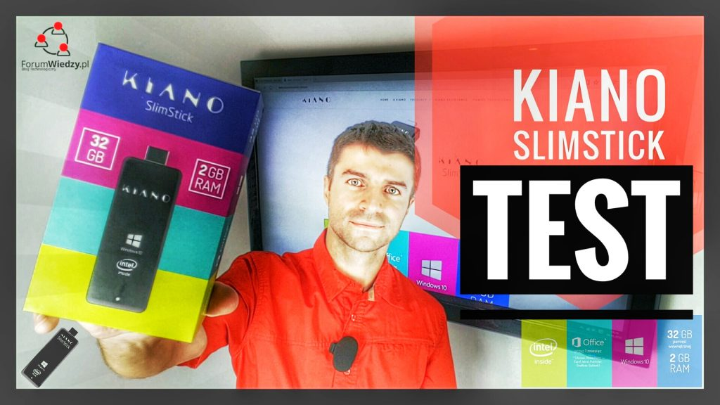 KIANO SlimStick TEST Mini Komputera z Windows 10