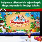 Świąteczne puzzle dla dzieci