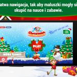 Święty Mikołaj Puzzle dla dzieci