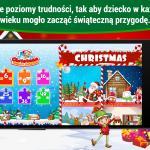 Święta, puzzle dla dzieci