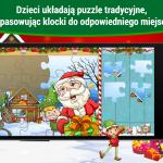 Gry na święta, puzzle dla dzieci