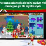 Święta, edukacyjne gry dla dzieci