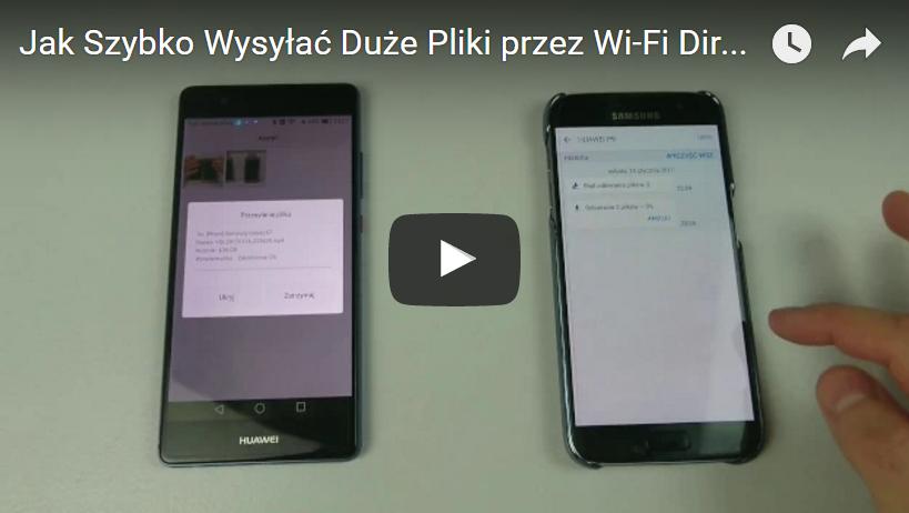 Jak Szybko Wysyłać Duże Pliki przez Wi-Fi Direct #JakToZrobic #15