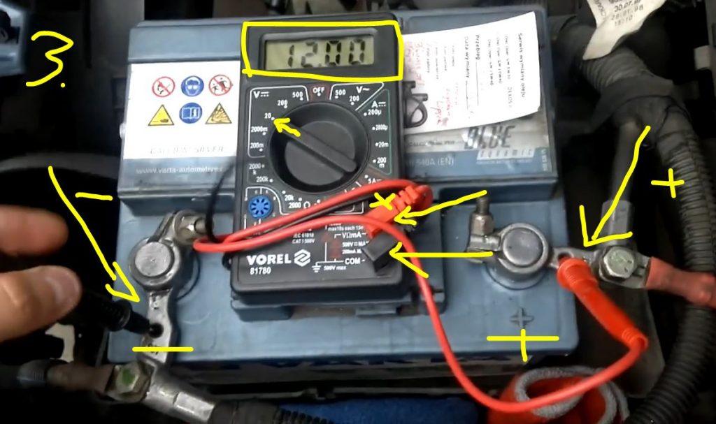 3 Jak Sprawdzić Napięcie Akumulatora 12V 24V Poradnik - Pomiar Napięcia