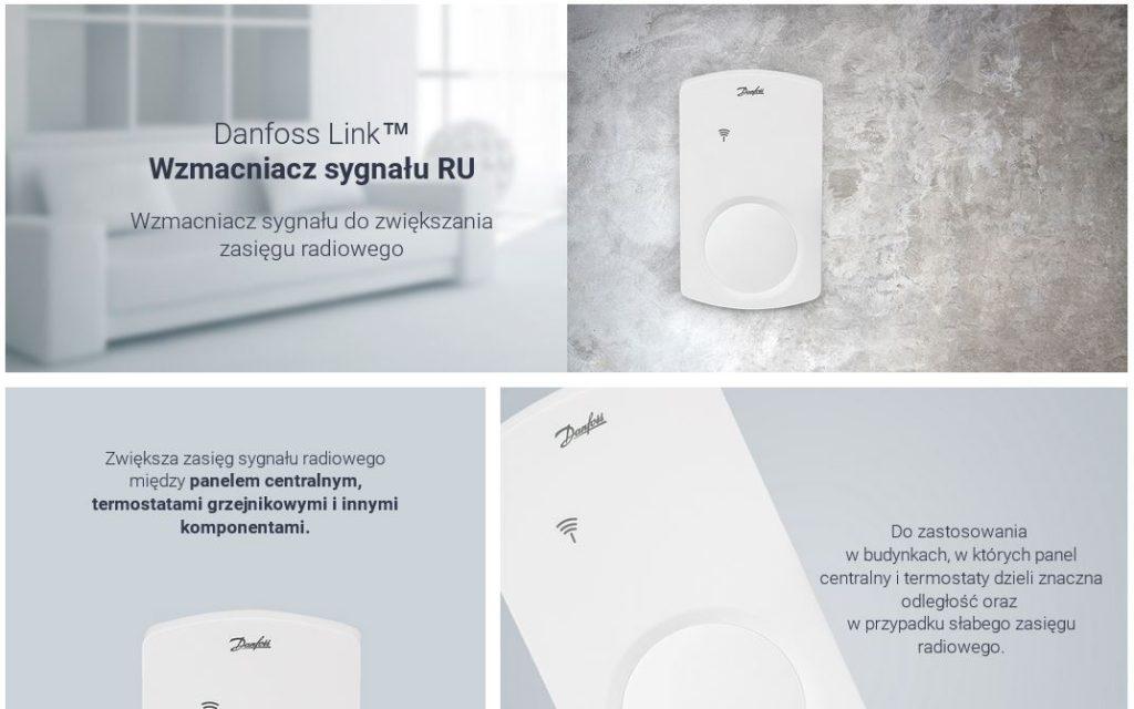 Danfoss Link Wzmacniacz Sygnału RU