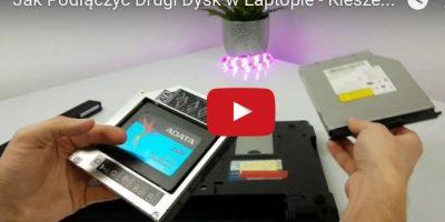 Jak Podłączyć Drugi Dysk w Laptopie - Kieszeń SSD HDD 2,5 SATA CD DVD