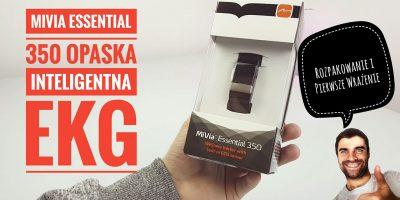 MiVia Essential 350 - Rozpakowanie i Pierwsze Wrażenie