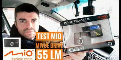 Mio MiVue Drive 55 LM - Nawigacja Samochodowa z Rejestratorem 2w1 #CzyWarto#25s