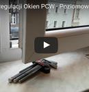 Instrukcja Regulacji Okien PCW – Poziomowanie Skrzydła – Poradnik [4K]