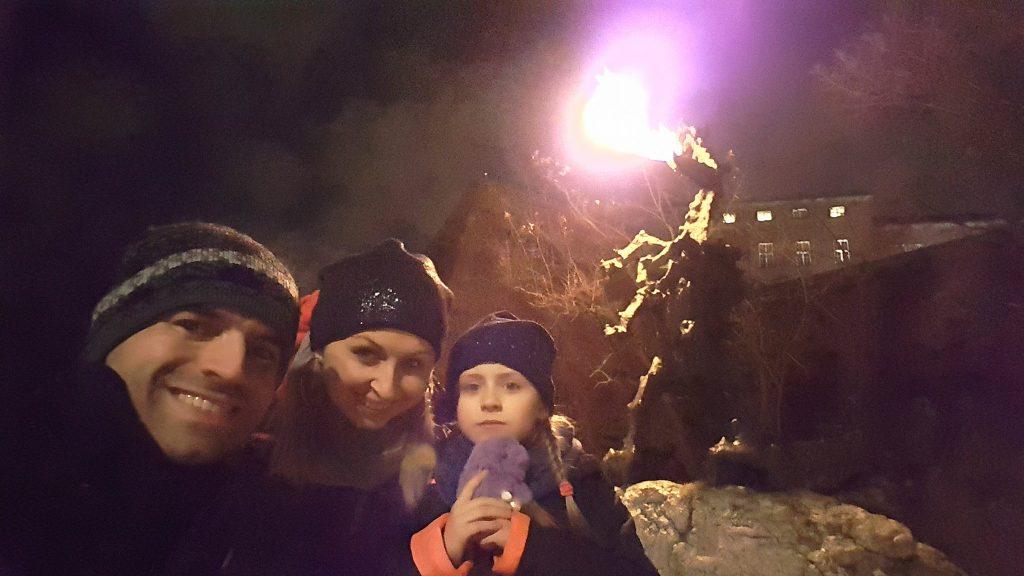 Smok Wawelski Nocą Zieje Ogniem Efektowniej 2017