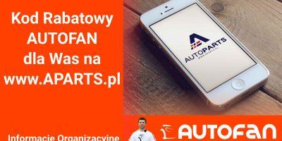 Rabat na www.aparts.pl autofan zrób to sam