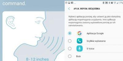 Jak Ustawić S Voice OK Google Speed Dial w przycisku HOME na Galaxy S7?