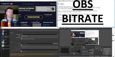OBS Bitrate Stream Twitch YouTube Ustawienia