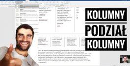 Kurs Microsoft Word: Wstawianie Kolumn i Podział Kolumny z Tekstem