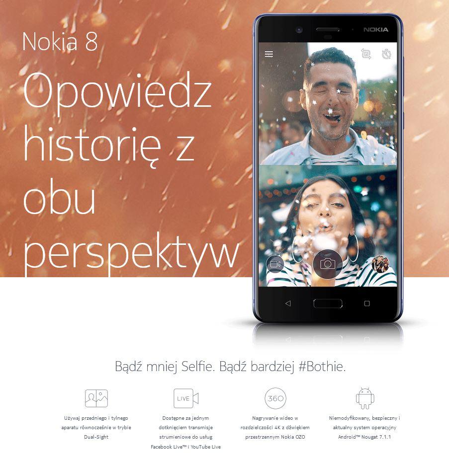 Nokia 8 Bothie Dual-Sight