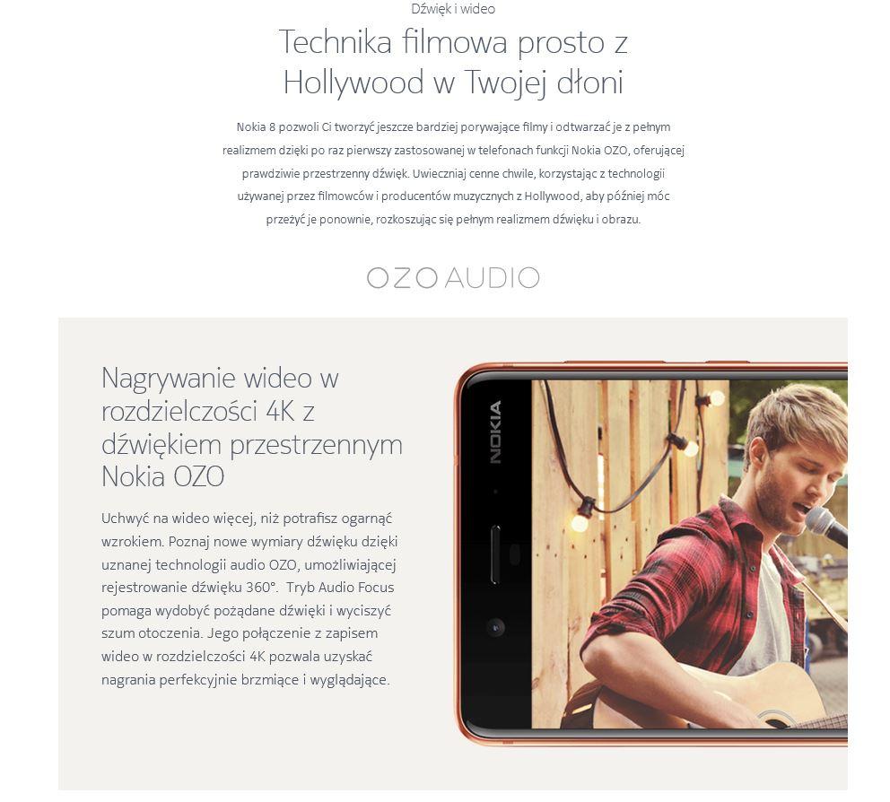 Nokia 8 OZO 360 Audio Focus