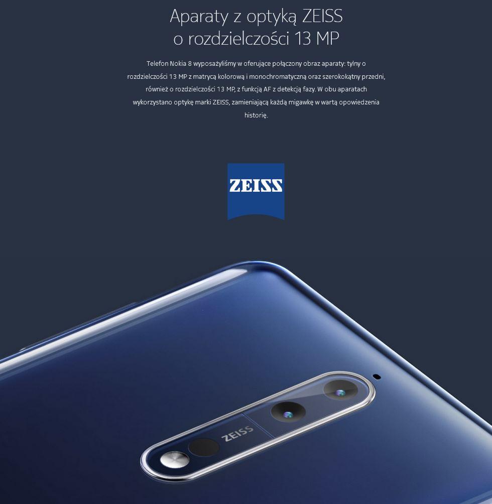 Nokia 8 ZEISS 13 MP