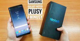 Samsung Galaxy Note8 Plusy i Minusy po tygodniu używania | ForumWiedzy.pl