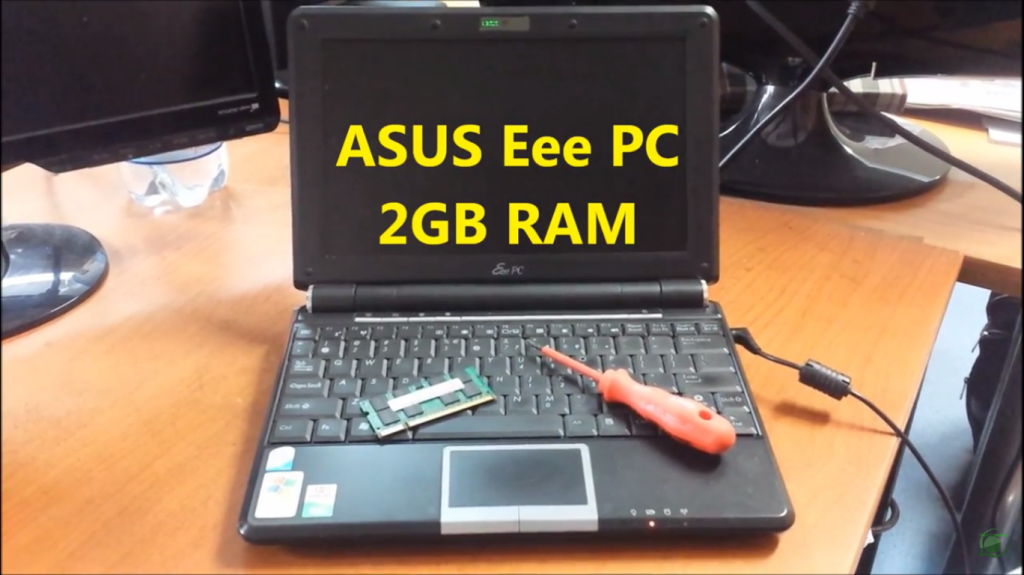 ASUS Eee PC 1000H 2GB RAM