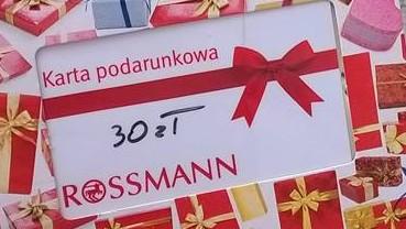 Rossmann karta podarunkowa 30 zł Życie jest piękne