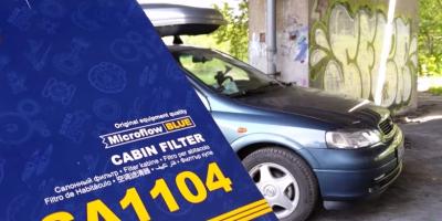 Wymiana Filtra Kabinowego - Opel Astra G - Manual