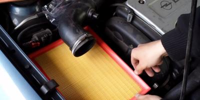 Wymiana Filtra Powietrza - Opel Astra G - Manual