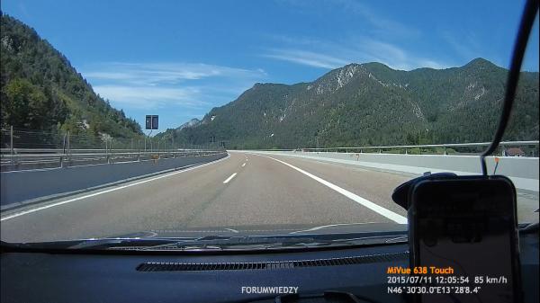 Droga Polska - Czechy - Austria - Włochy | Opel Astra G