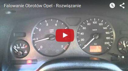 Falowanie Obrotów Opel - Rozwiązanie