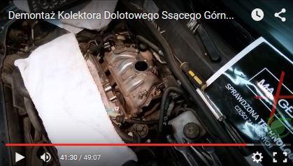Demontaż Kolektora Dolotowego Ssącego Górna Część - Opel Astra G - www.APARTS.pl