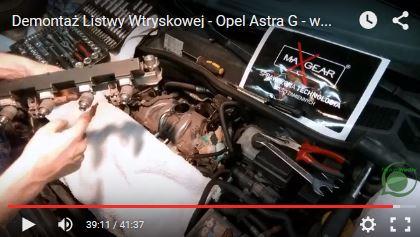 Demontaż Listwy Wtryskowej - Opel Astra G - www.APARTS.pl