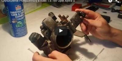 Czyszczenie Przepustnicy - Opel Astra G - www.APARTS.pl