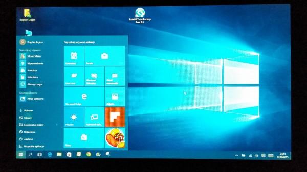 Aktualizacja Windows 10 + Kopia Zapasowa Dysku