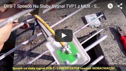 Słaby zasięg DVB-T TVP1, TVP2, MUX - Rozwiązanie!