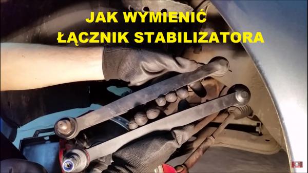 Jak wymienić przewód hamulcowy elastyczny i łącznik stabilizatora Opel
