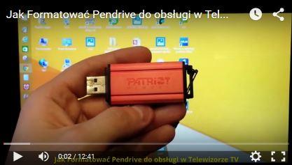 Jak Formatować Pendrive do obsługi w Telewizorze TV (fat32)