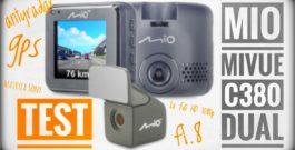 Podwójna kamera do auta z matrycami Sony i modułem GPS – Mio MiVue C380 Dual – recenzja test