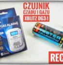XBLITZ DG3-1 czujnik czadu i gazu Recenzja Test Opinia